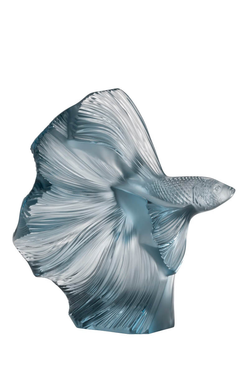 Aquatique Poissons Combattants Lalique