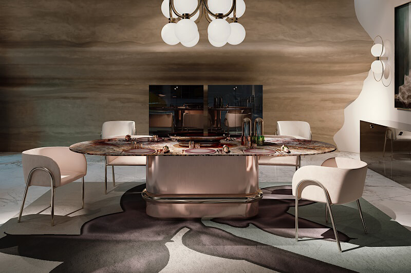Clan Milano Ring table Baby chairs