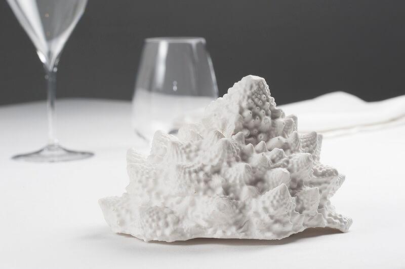 Piatti scultura chef Franco Aliberti