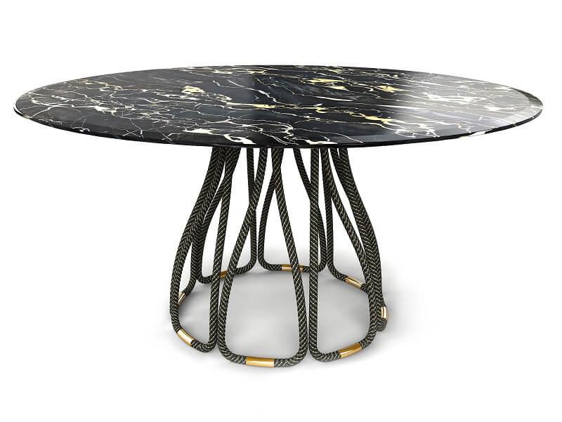 Roberto Cavalli Home Dining Table Nyos