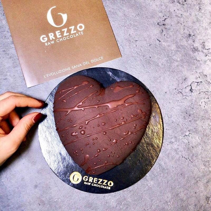 San Valentino al cioccolato Grezzo