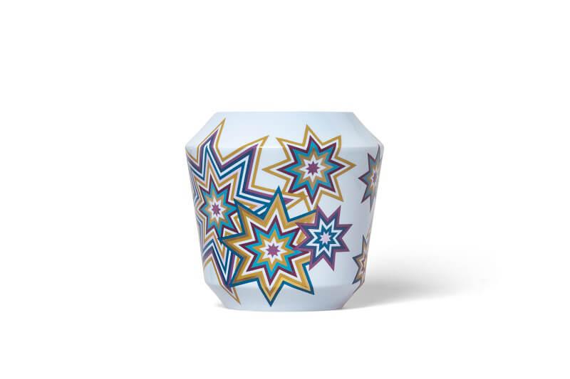 Sieger by Furstenberg Luna vase Supernova