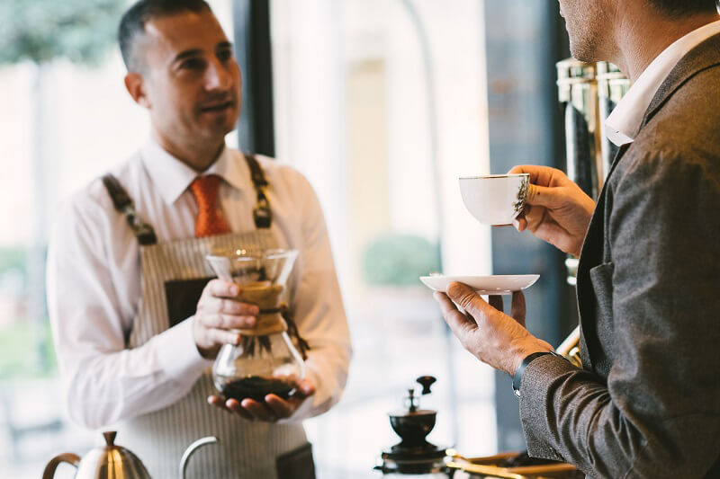 Coffee Break Four Seasons Hotel Milano