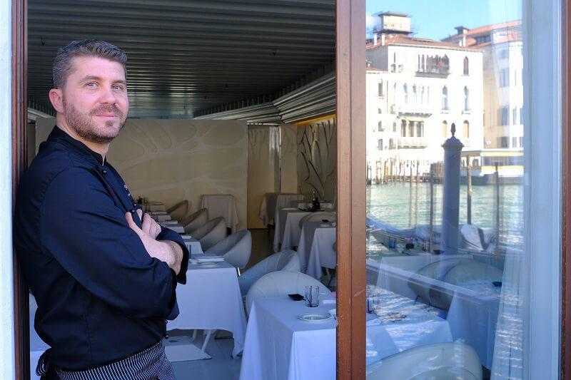 Giancarlo Bellino Executive Chef Antinoo's Lounge and Restaurant