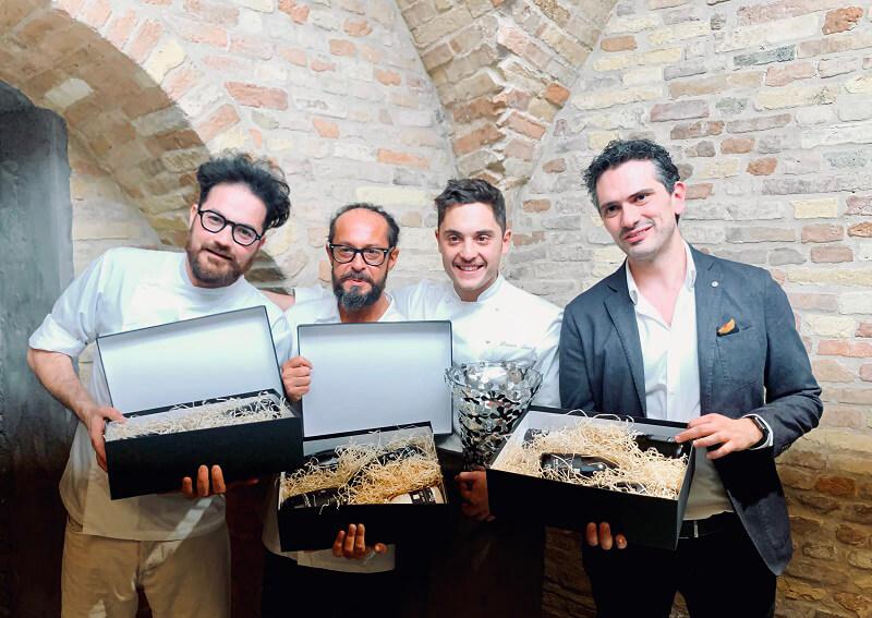 Premiazione Sina Chef's Cup Contest 2019