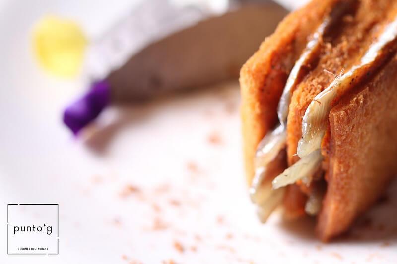 Toast del Tigullio di Chef Emilio Solano