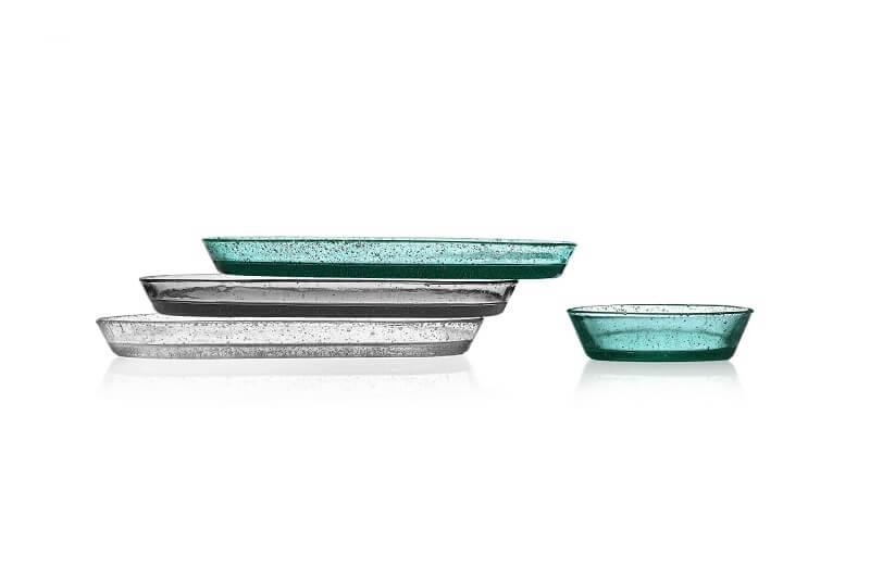 Trays and cup Bollo by Federico Angi Accessori per la tavola Ichendorf Milano
