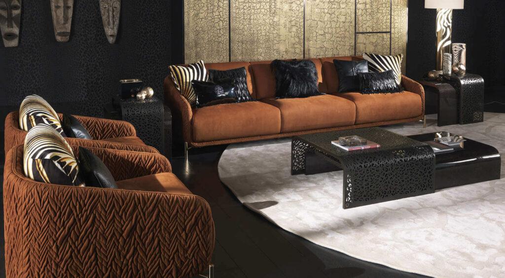 The Wild Living Roberto-Cavalli-Home-Interiors CLIFTON-armchair