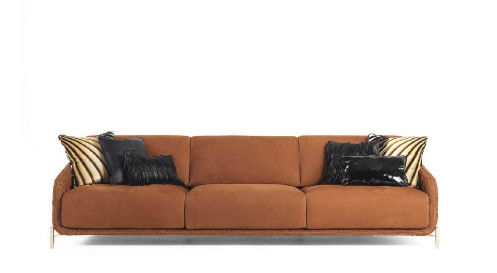 The Wild Living Roberto Cavalli-Home Interiors CLIFTON sofa